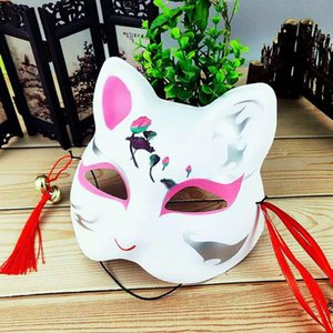 Christmas and wind cos adult full face cat face mask anime fox anbu cat holiday makeup show