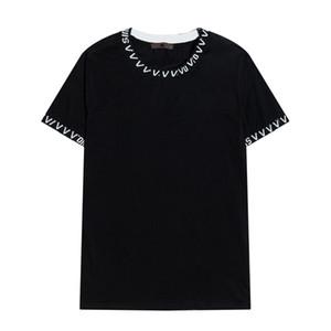 CP Topstoney Yaz Temel Pamuk Kısa Kollu Yeni Yaz Rozeti Kısa Kollu Moda Rahat Gevşek Basit Temel T-Shirt