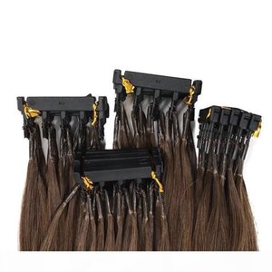 VMAE High Quality Natural Black Blonde Brown Color Cuticle Aligned Remy Double Drawn 6D Second Pre Bonded Brazilian Human Hair Extensions