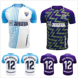 20 21 Malaga Fussball Jerseys 2020 2021 Okazaki Jersey Juanpi Adrian Football Hemd Santos Camiseta de Fútbol Malaga CF N'Diaye