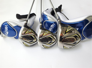 Honma BeZEAL 525 Wood Set Honma BeZEAL 525 Woods Honma BeZEAL Golf Clubs Driver + Fairway Woods Graphite Shaft With Head Cover