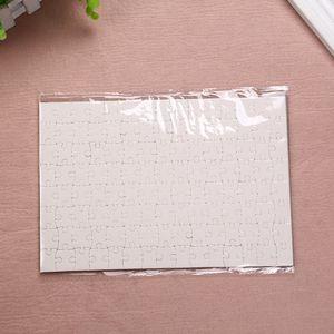 DIY Sublimation Blank Jigsaw Transfer Transfer Blank Puzzle A4 Giocattoli multi-standard per bambini Logo Personalizzazione Carta Puzzle W-00567