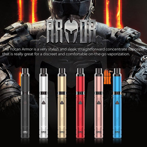 Authentic Yocan Armor Starter Kit Wax Dry Herb Vaporizer Vape Pen 380mah Batteria QDC QTC Atomizer Originale
