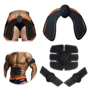 액세서리 EMS 전기 엉덩이 트레이너 복부 근육 ABS 자극기 피트니스 기계 무선 스마트 바디 슬리밍 마사지기 1