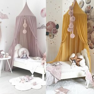 Nordic Style Princess Lace Kids Baby Bed Room Canopy Mosquito Net Curtain Bedding Dome Tent
