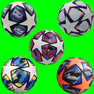 2020 2021 Champion Europeo Balón de fútbol 20 21 Final Kyiv PU Tamaño 5 Bolas Gránulos Fútbol resistente al deslizamiento Envío gratis