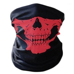 Skull Masks Skeleton Outdoor Bicycle Multi function Neck Warmer Ghost Scarves 1 pc Fashion Magic Scarf1