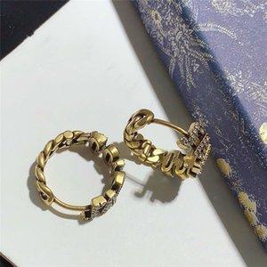 높은 쥬얼리 디자이너 귀걸이 다이아몬드 귀걸이 무료 배송