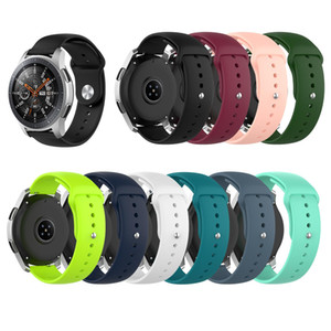 18mm 20mm 22mm Silicone Watchband for Samsung Galaxy Watch 42mm 46mm Active2 40mm 44mm Gear S2 S3 Strap Band Bracelet Xiaomi Watch
