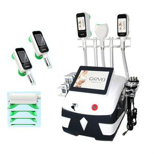 2020 portable 3 poignée de cryolipolyse machine graisse gel amincissant machine combinant double menton cryo perte de poids