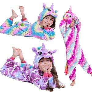 الأطفال الطفل الكرتون منامة النوم منامة الفتيان الفتيات ملابس الاطفال بطانية البيجامات infantil pyjamas أطفال 201225