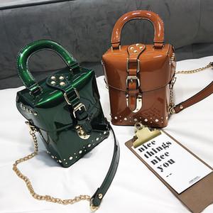 Hansomfy 2019 Nuovo Famoso Brand Diamond Box Borse Mini Cube Brand Brand Design Design Crossbody Bag per le donne Borse a tracolla YY-76 C0121
