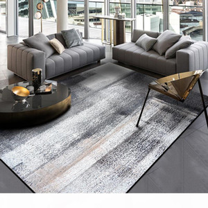Abstract Ink painting carpet dark grey color bedroom plush rug kitchen Door mat Living room floor mat custom made
