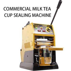 220V / 315W équipement lait de la machine de scellement tasse boisson à usage professionnel ménages manuel gobelet en papier en plastique de machine à sceller