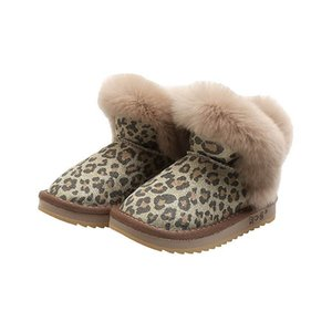 2020 new Winter kids boots leopard kids Martin boots leopard girls boots girls snow boot kids shoes girls shoes ankle boot B2713