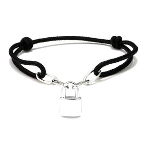 Fashion have stamps and box Lock hand rope promise bracelets pulsera for mens and women Party Wedding ankle jewelry lovers gift