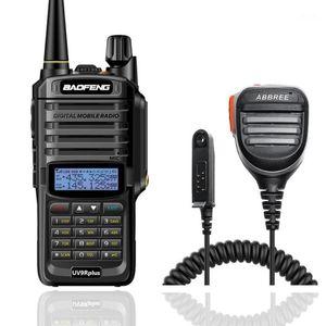 Baofeng UV-9R Plus IP67 Waterproof walkie talkie VHF UHF 8W powerful Portable 10km Long Range UV9R Portable Ham Radio +780 Mic1