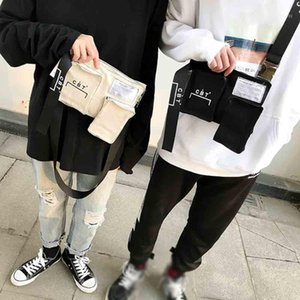 Xiniu Moda Bolsa Messenger Bags Senhora Bag Peito Unissex Mulheres Homens Mini Crossbody Bag Tote Vintage Canvas Sacos de ombro flap1