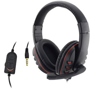 Wired Original 3.5mm Plug Gaming Headset Headphone Earphone Music Microphone For PS4 PlayStation 4 Game PC Chat