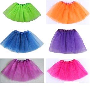 Kids Tutu Ballet Dance Skirt Girls Costume Dress Wear tutu Dress Ballet Dress Fancy Skirts Costume 19colors for selection in stock fast