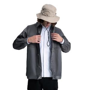 Casual jacket zippered jacketArmy green cargo pocket jacket Boys Sweater plus-size jacket sports Leisure men's clothing