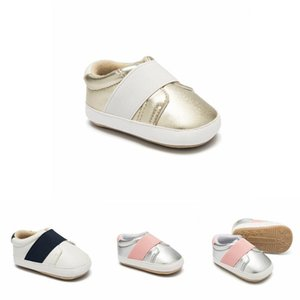 newborn baby boy shoes Gold and silver Indoor soft-soled non-slip Leisure new born toddler baby shoes