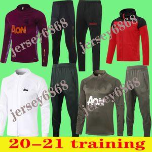 Pogba Veste Tracksuit Survèlement 20 20 Rashford Football Formulaires Jacket Jogging Chandal Futbol