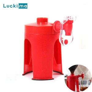 Distributeur d'eau du robinet magique pour Soda Coke boit des boissons de l'eau en bouteille Barre de bureau de fête à l'envers à l'envers Distributeurs de boissons à boire des gadgets1