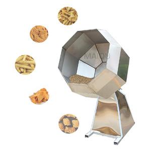 1.5KW Attrezzature Piantano Platain Bardiod Nut Doce Ottagonal Riso Chips Snack Patata Chip Buffed Corn Aroma Condimento per alimenti