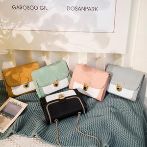 2020 Yaz ve Sonbahar Yeni Kore Moda Trendy Bayanlar Küçük Kare Çanta Omuz Çapraz Cep Telefonu Sikke Çanta