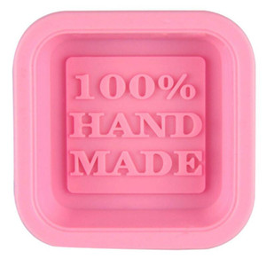 100% Handmade Soap Molds DIY Square Silicone Moulds Baking Mold Craft Art Making Tool DIY Cake Mold CCD2995