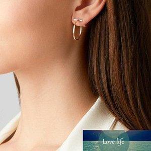 Geometric Shape Simple Metal Earrings for Women Fashion Jewelry Ladies Daily Party Nightclub Earring New Hot