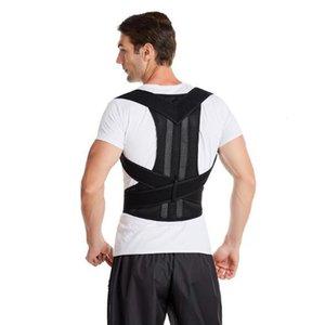 Adult Men Women Humpback Correction Belt Shoulder Strap Back Posture Corrector Adjustable Lumbar Brace Support Belts XH0SN5