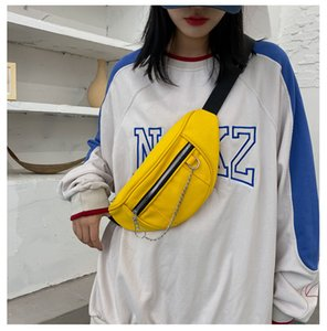 Girl Women Bag Waist 2020 Fashion Bumbag Cross Woman Belt Crackle Banane For Body Cute Sac Autumn Tpjfv