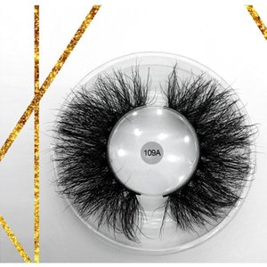 Wholesale False 100% Cruelty Free 3d Faux Mink Strip Eye Lashes Private Label Fluffy 25mm 3d Self Adhesive Lashes