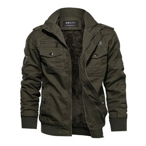 Plus Size Men Army green Jacket Long Sleeve Stand Collar Military Casual Men Black Goth Jacket Fashion Coat 201201