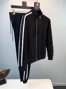 2020 Primavera y otoño Nuevo Moda para hombre Diseñador de chándalsuits ~ Sweatsuit de tamaño chino ~ Tops Mens Entrenamiento Traje de la pista de sudor Jogging