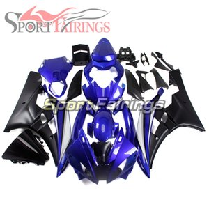 Blue Black ABS Bodywork For YAMAHA YZF600 2006 2007 R6 06 07 YZF 600 Sportbike Complete Injection Plastic Pannels Hot Sale