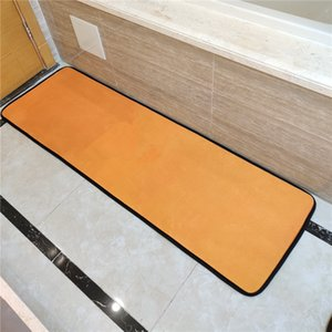 Classic Letter Room Mats Stylish Horse Kitchen Rugs Two-piece Set Floor Pads Carpets Absorbent Quick Dry Bathroom Accessories