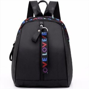 2019 Korean Style Women Mini Backpack Oxford Shoulder Bag For Teenage Girls Multi Function Small Bagpack Female Phone Pouch