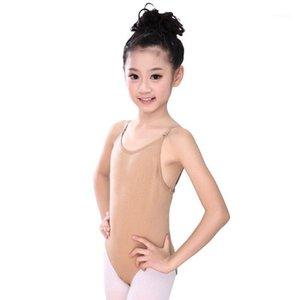 Fita de dança 2021 crianças adulto sexy sem costura camisole pele ginástica meninas meninas kids ballet underwear nude corpo suit1