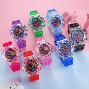DHL FREE Kids Among Us Game LED Watch Boy Girls Fashion Cartoon Luminous Watches Wrist Watch Designer Watches Analog Wristwatches