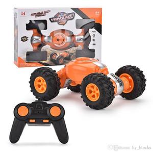 RC Car 4WD Control remoto fuera de la carretera Juguetes de escalada 2.4G Twisted Stunt Drift Chalight Deformation Buggy Car for Kids Boys Toys 04