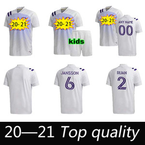 Migliore Qualità 2020 MLS Club Orlando City Casa Away Soccer Jerseys 20 21 # 10 Colman J. Mendez Camicia da calcio Dwyer Nani Football Uniform