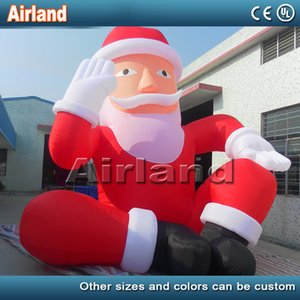 2020 New Year Decorations Party Inflatable Santa Claus Toys Inflatable Christmas old man for advertising