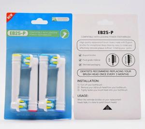 Yeni Tasarım Elektrikli Diş Fırçası Kafaları Satılık Yüksek Kalite Oral Bakım Diş Fırçalar Kafaları Değiştirme Uyumlu EB-25P EB -17P EB -50P