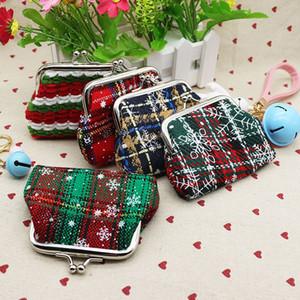 Fashion Plaid Coin Purse Women Small Wallet Card holders Female Mini Wallet Coin Bag Hasp Women's Purse Christmas Gift lqb-005