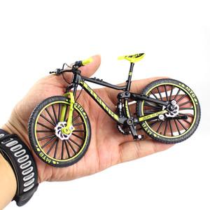 Mini 1:10 Legierung Fahrradmodell Diecast Metall Finger Mountain Bike Racing Spielzeug Bend Road Simulation Sammlung Spielzeug für Kinder
