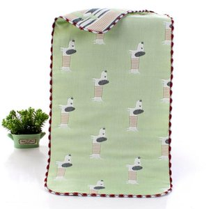 Children's small towel six-layer cotton cartoon pattern children's towel multicolor Saliva towel cartoon25cm*50cm 1