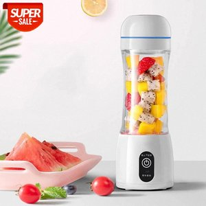 400ml Portable Juicer Electric USB Rechargeable Smoothie Machine Mixer Mini Juice Cup Maker fast food processor #1o6i
